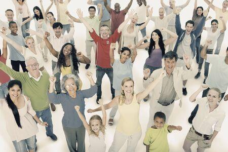 community people: Diversity Community People Friendship Celebration Concept