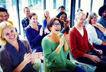 Gruppo di persone Pubblico Seminario Piacere Concetto
