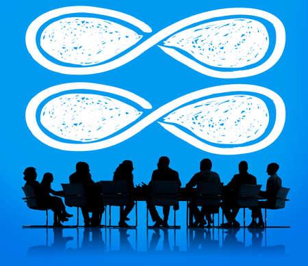 a loop: Infinity Eternity Loop Forever Eternal Concept