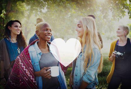 afecto: Love Like Devoción pasión afecto romántico Joy Life Concept