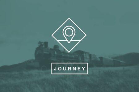 check in: Location Icon Check In Place Destination Concept