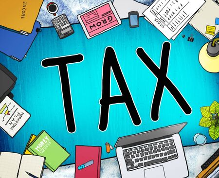 taxation: Tax Taxation Refund Return Exemption Income Concept