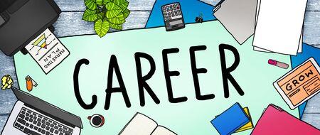 career plan: Career Work Job Employment Recruitment Concept