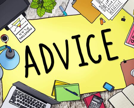 advisor: Advice Advisor Consultant Support Assistance Concept Stock Photo