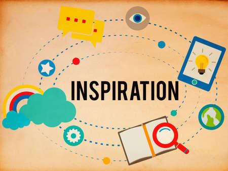 pensamiento estrategico: Inspiration Innovation Creativity Ideas Vision Concept