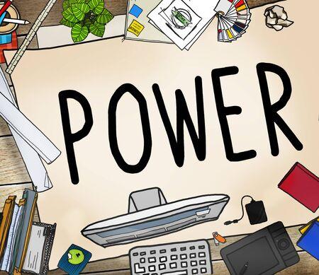 electricity generator: Power Energy Eletric Electricity Generator Technology Concept Stock Photo