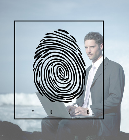 Fingerprint Identification Individuality Investigation Concept