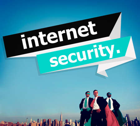 prevent: Internet Security Protection Phishing Prevent Protect Concept Stock Photo