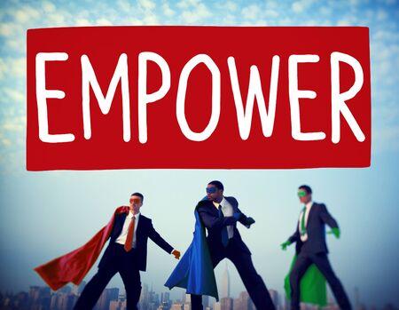 authority: Empower Authority Permission Empowerment Enhance Concept
