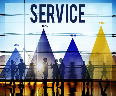 reliable: Service Customer Satisfaction Support Reliable Concept