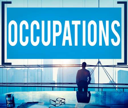 recruiting: Occupations Career Job Employment Hiring Recruiting Concept