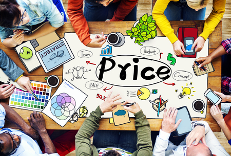 expense: Price Cost Expense Money Rate Value Commerce Concept