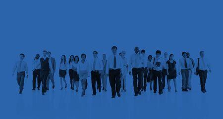 organised group: Green Business Businessman Team Teamwork Concept