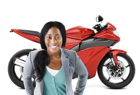 motoring: Motorbike Motorcycle Bike Roadster Transportation Concept Stock Photo