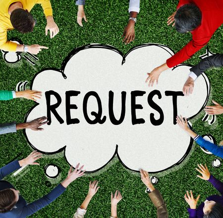 requirement: Request Requirement Desire Order Demand Concept
