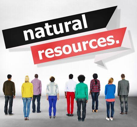 natural resources: Recursos Naturales Ambiental Tierra concepto de la energía
