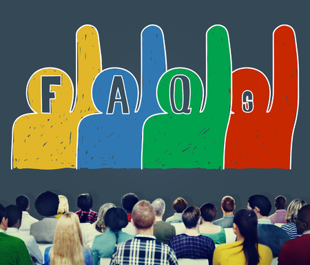questions: Frequently Asked Questions FAQ Problems Concept