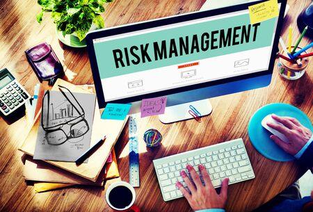 prevent: Risk Management Hazard Dangerous Prevent Protect Concept