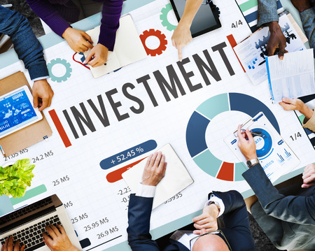 Business meeting with investment and marketing concept Stock fotó - 108958830