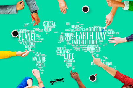 business life: Earth Day Environment Global Growth Conservation Concept