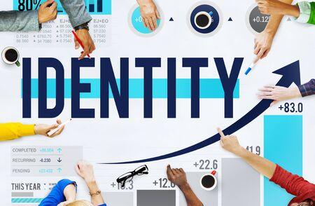 商業著作権マーケティング コンセプトのブランドのアイデンティティ