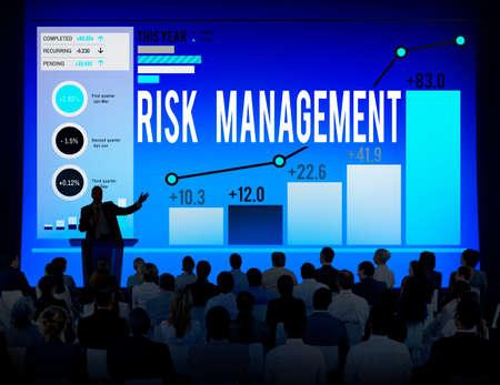 hazard: Risk Management Hazard Dangerous Prevent Protect Concept