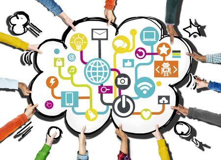 通信: グローバル ・ コミュニケーション社会ネットワー キング接続インターネット オンライン コンセプト