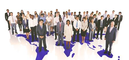 Diversity Business People Corporate Team Group Concept Stok Fotoğraf