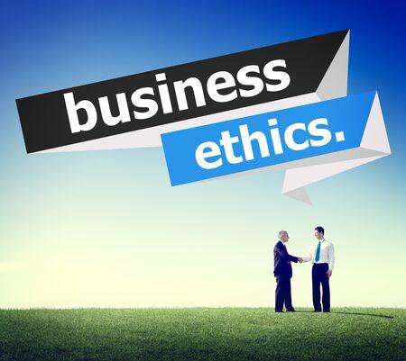 business ethics: Business Ethics Integrity Honesty Trust Concept