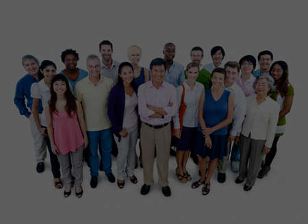 large group of business people: Large Group of Business People Team Community Concept Stock Photo