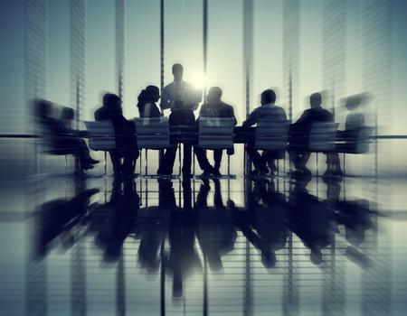 reuniones empresariales: Business People Meeting Discussion Communication Concept Foto de archivo