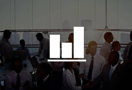 concep: Bar Graph Growth Success Business Chart Concep
