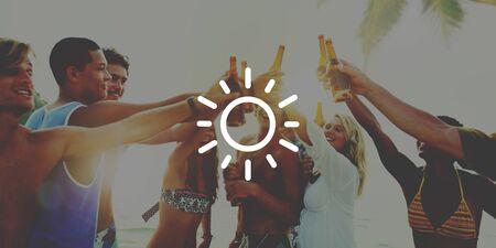 widget: Widget Weather Sun Heat Warm Day Concept