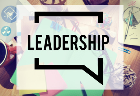 authoritarian: Leadership Leader Lead Manager Management Concept