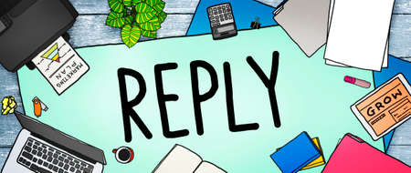reply: Reply Feedback Answers Information Questions Concept
