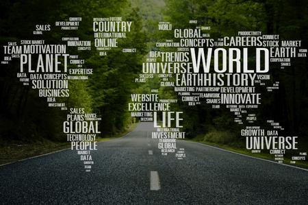 universum: Planet Welt Earth Universe Global Innovation Konzept