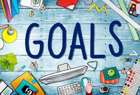the anticipation: Goals Aim Aspiration Anticipation Target Concept