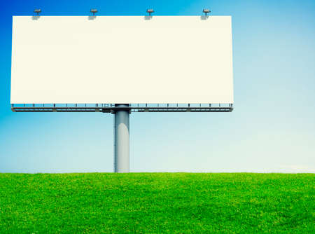 noticeable: Bill Board Advertising Notice Nature Green Concept