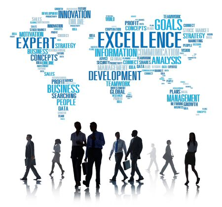 expertise: Excellence Expertise Perfection Global Growth Concept