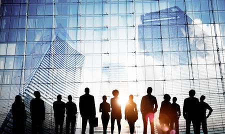 ビジネス人々 のインスピレーションの目標ミッション成長の成功の概念