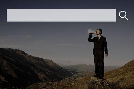 search bar: Search Box Web Online Technology Internet Website Concept