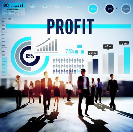 gain: Profit Benefit Revenue Gain Accounting Concept