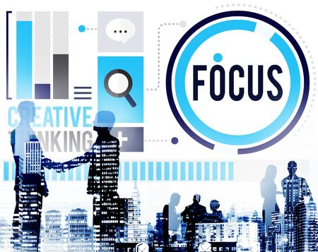 focus group: Focus Concentrate Definition Target Point Concept