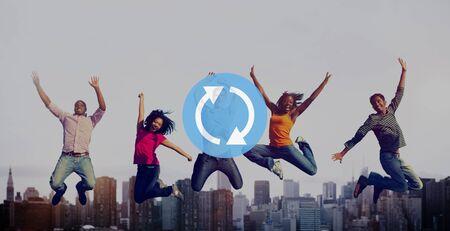 Refresh Restart Icon Symbol Network Concept