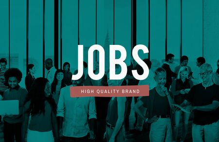 career young: Jobs Employment Career Occupation Application Concept