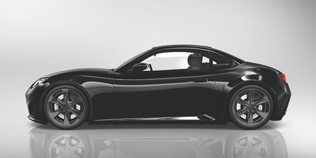 Ilustración del concepto del coche deportivo de vehículo Transporte 3D Foto de archivo - 49155376