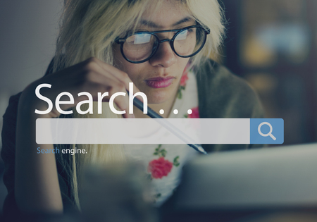 Search Seo Online Internet Browsing Web Concept Stock Photo