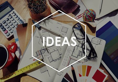 oficina desordenada: Ideas Inspiration Motivation Creativity Design Concept
