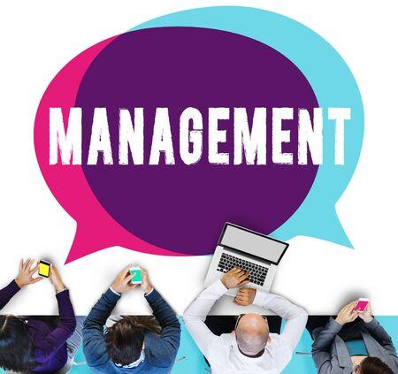 authoritarian: Management Organization Director Managing Customize Concept