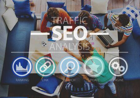 seo: Search Engine Optimization SEO Information Internet Concept